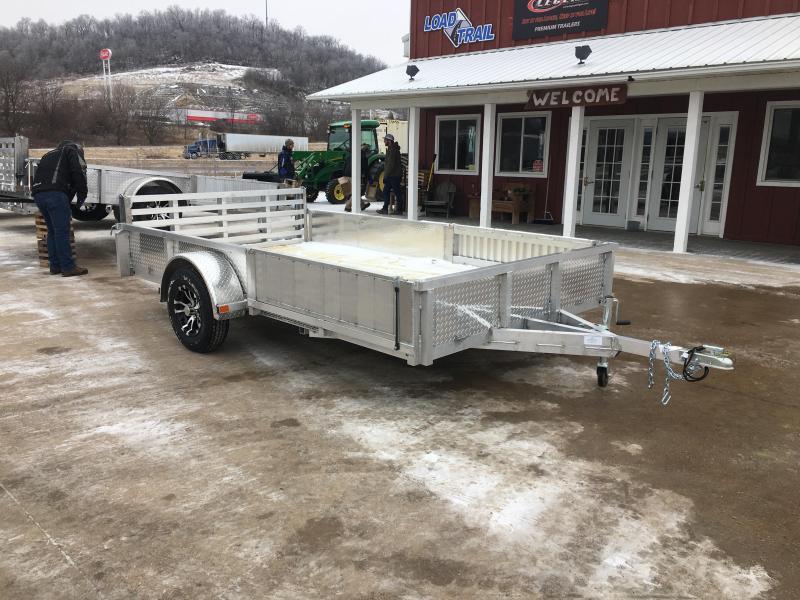 2019 Rugged Terrain 81.5X12 Aluminum Utility Trailer