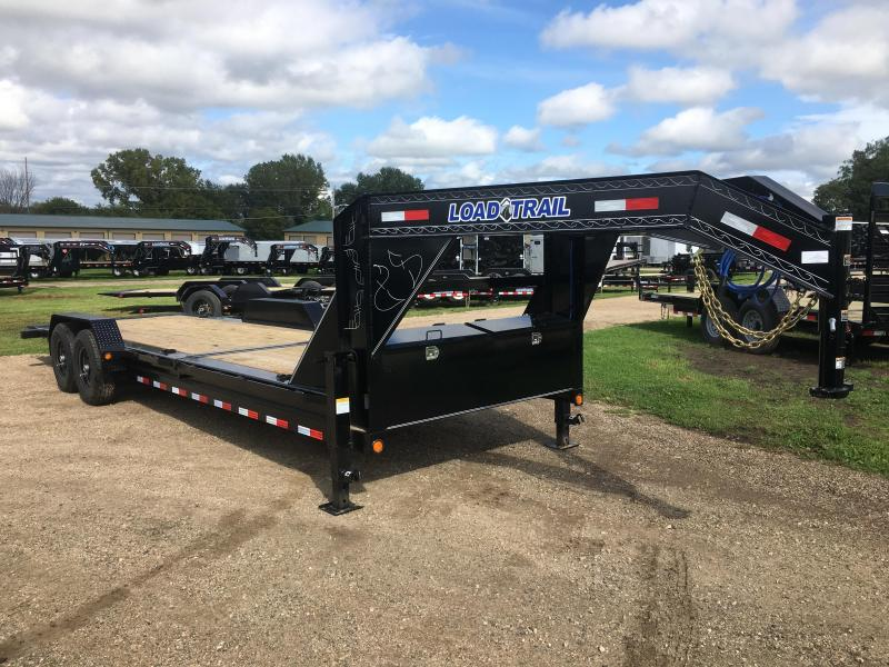 2020 Load Trail 83X24 Gooseneck Tilt Deck Equipment Trailer