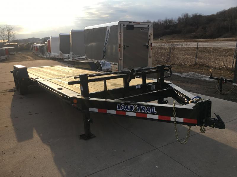 2019 Load Trail 83X24 Gravity Tilt Equipment Trailer