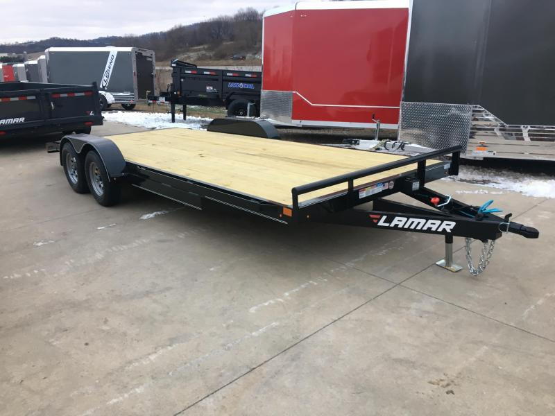 2019 Lamar Trailers 83X20 Car Hauler