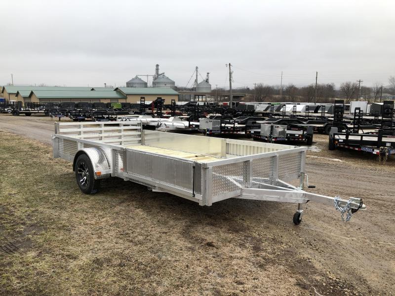 2019 Rugged Terrain 81.5X14 Pro Pull Aluminum Utility Trailer