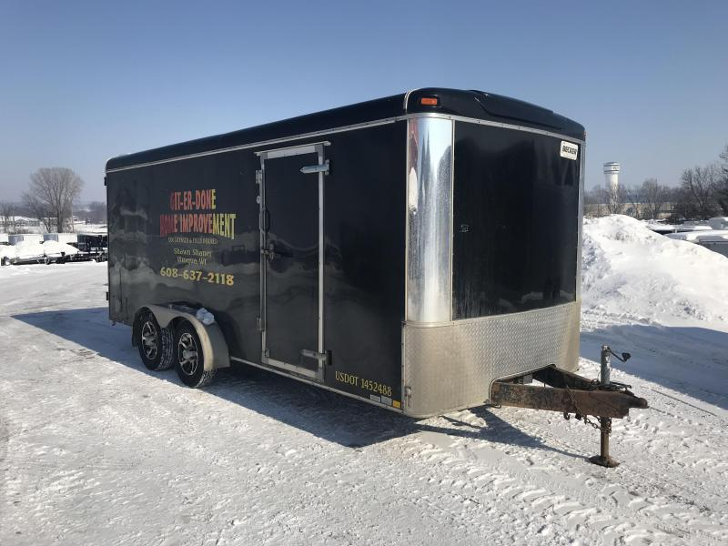 2012 United Trailers 7X18 Enclosed Cargo Trailer