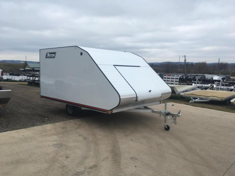 2019 Triton 101X12 Hybrid Snowmobile Trailer in Ashburn, VA