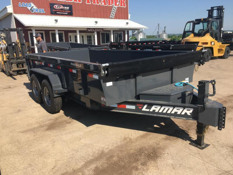 2018 Lamar Trailers 83X14 Low Pro Dump Trailer