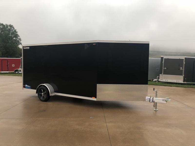 2019 Legend Manufacturing 7X19 Inline Snowmobile Trailer