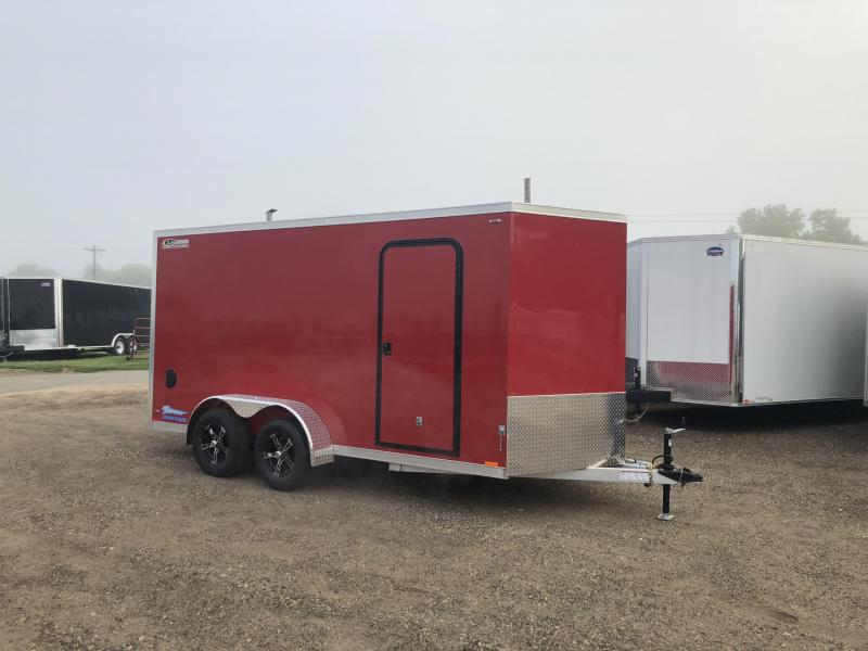 2019 Legend Manufacturing 7X14 Aluminum Enclosed Cargo Trailer