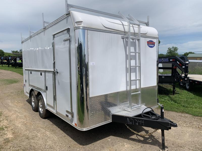 2019 United Trailers 8.5X16 Tool Crib Enclosed Cargo Trailer in WI