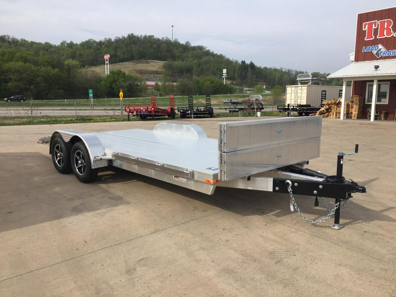 2018 Legend Manufacturing 82X18 Aluminum Car Hauler