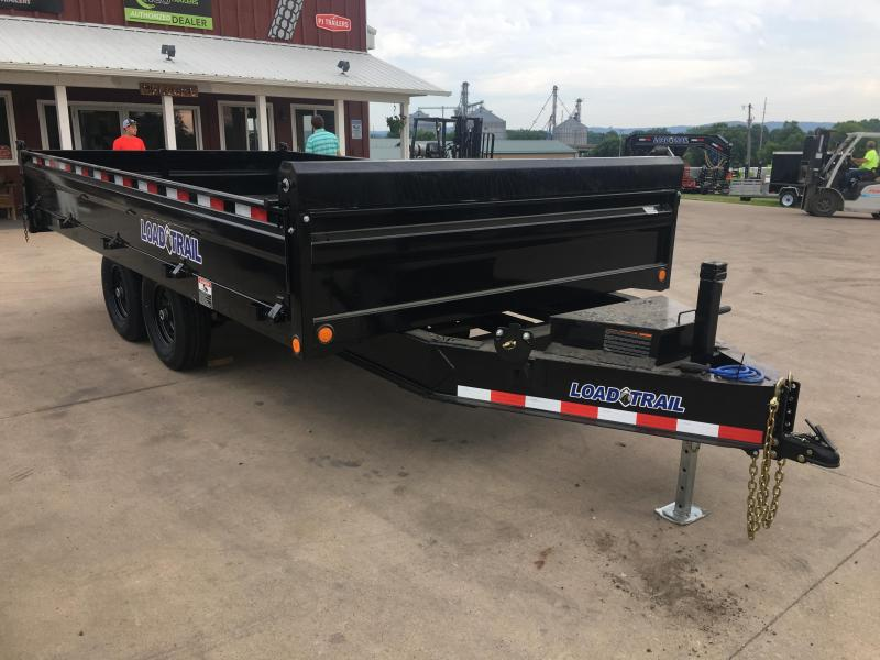 2019 Load Trail 96X16 Deckover Dump Trailer in Ashburn, VA