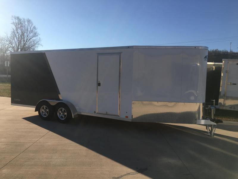 2019 Aluminum Trailer Company 7X24 Inline Snowmobile Trailer in Ashburn, VA
