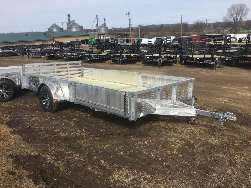 2020 Rugged Terrain 81.5X14 Aluminum Utility Trailer