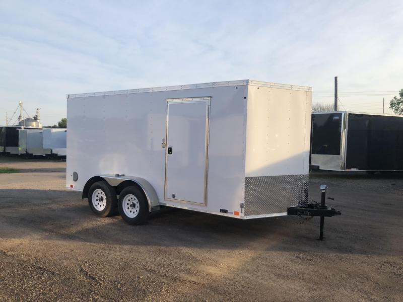 2019 United Trailers 7X14 Enclosed Cargo Trailer