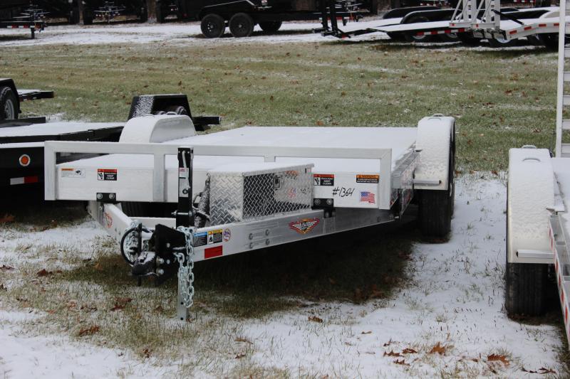 2018 H and H Trailer Electric Tilt Equipment Trailer
