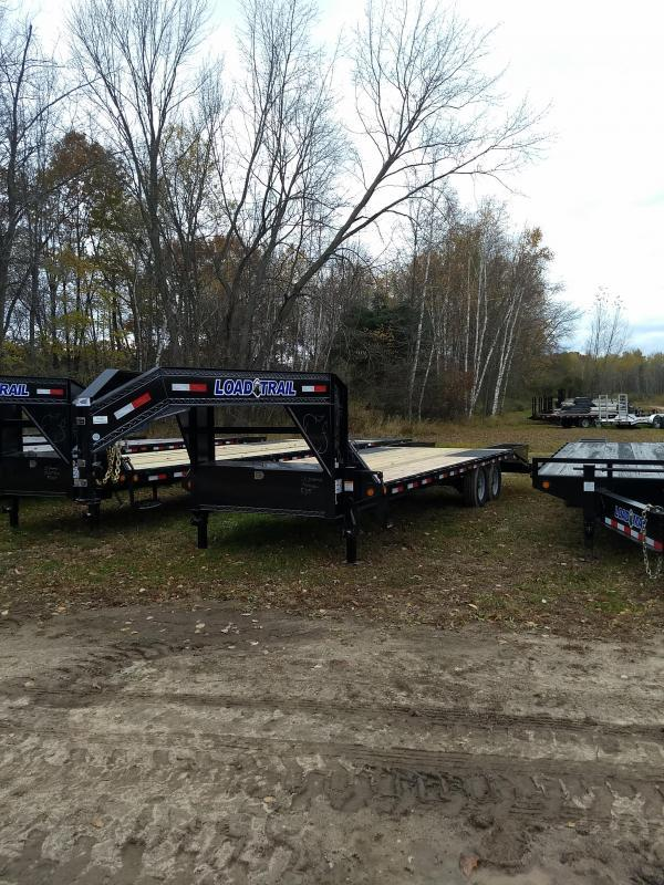 New 25' 14k Gooseneck Equipment Trailer Michigan's #1 Selling Brand