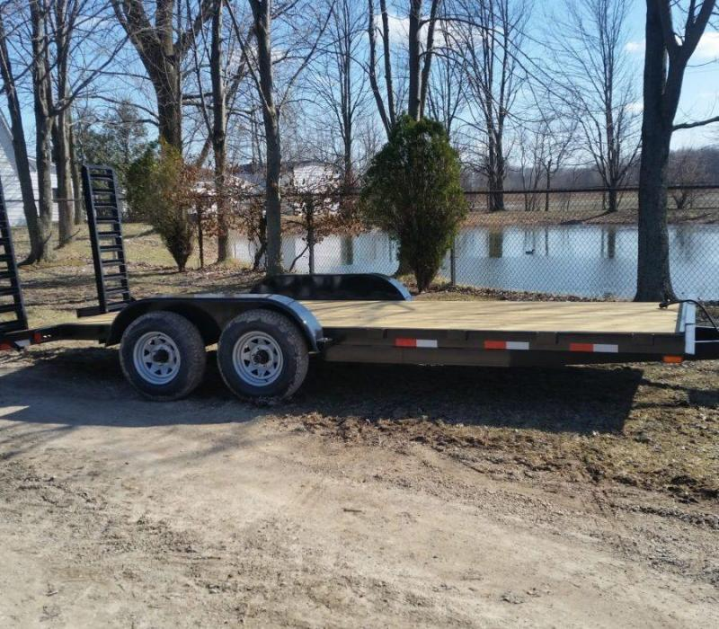 82 x 18 A.M.O. Equipment Trailer TA3