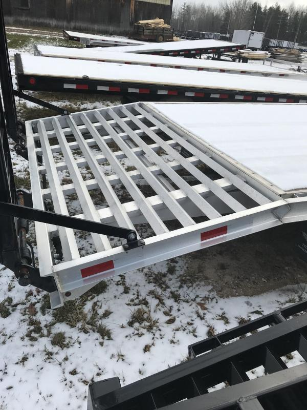 2018 H and H Trailer 24 Tag 14K Equipment Trailer