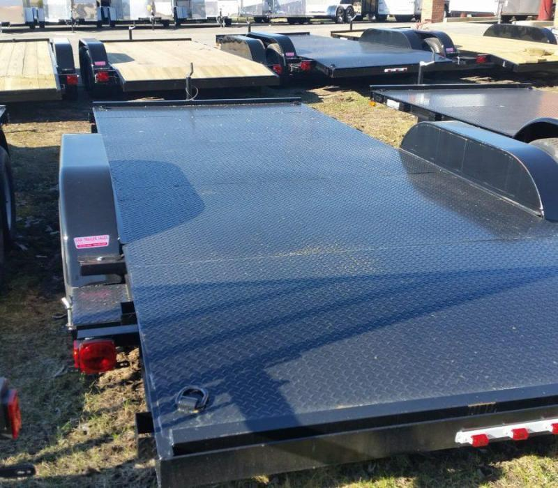 20' A.M.O. Car Hauler Trailer TA2 Steel Deck in Ashburn, VA