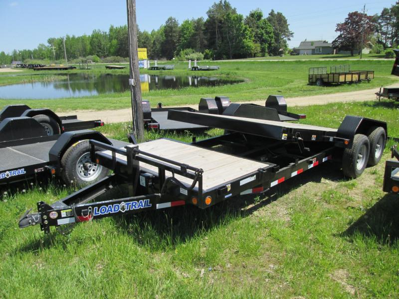 2019 Load Trail 20 Tilt Deck Over Equipment Trailer