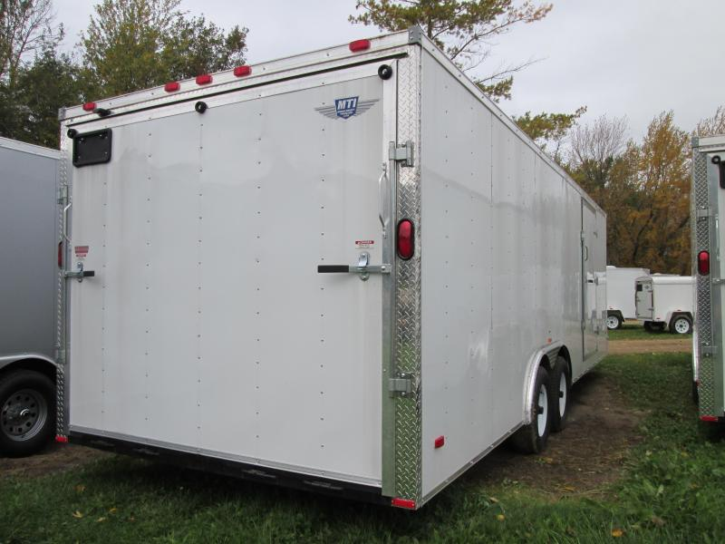 2018 RC Trailer 8.5x18 Enclosed Cargo Trailer