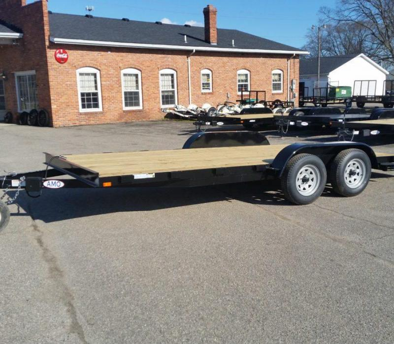 18' A.M.O. Car Hauler Trailer UT182