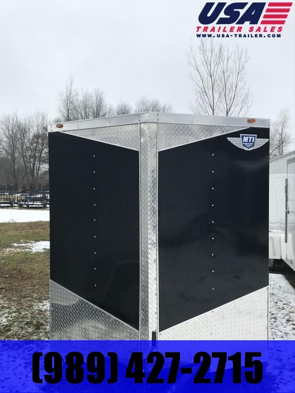 2019 MTI Trailers 6x12 Barn Doors Enclosed Cargo Trailer