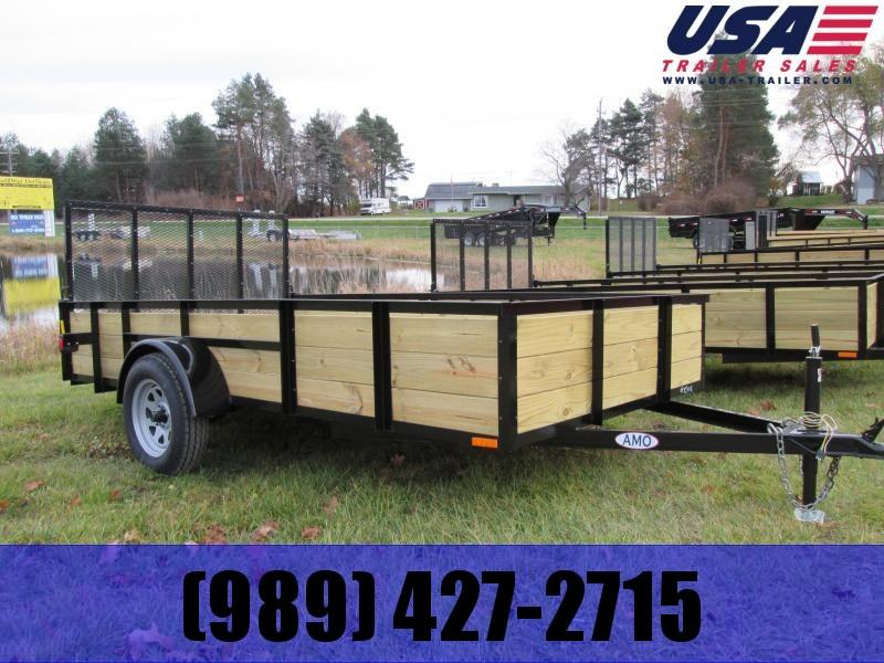 2018 Gold Star 5x10 Wood Side Utility Trailer