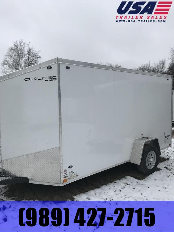 2019 Qualitec 6x12 Barn Door Enclosed Cargo Trailer