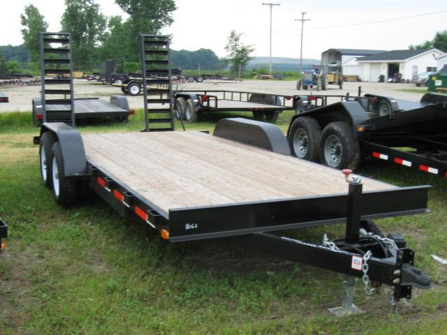 2019 American Manufacturing Operations (AMO) LOAD TRAIL Equipment Trailer
