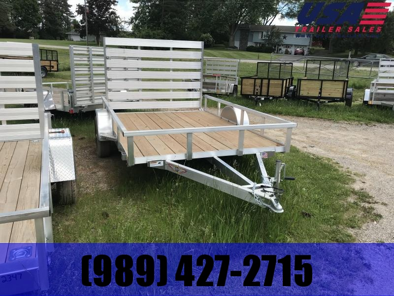 2019 H and H Trailer 82x12 Aluminum Utility Trailer