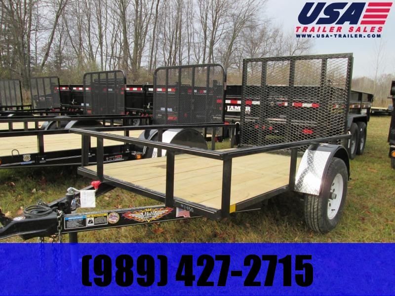 2019 H and H Trailer 5X10 Landscape Utility Trailer