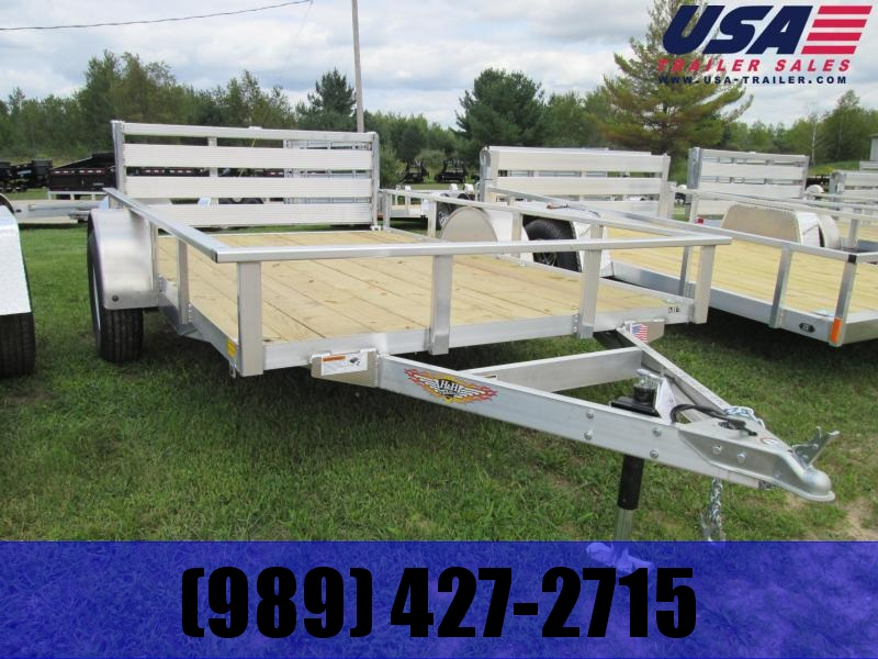 H and H Trailer Aluminum Utility Trailer