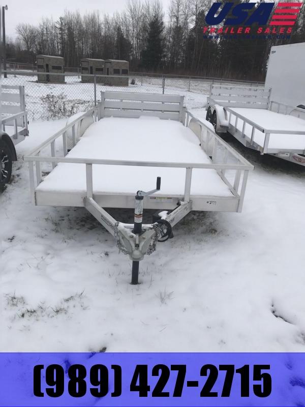 2018 Qualitec 65x18 Bifold Gate Utility Trailer