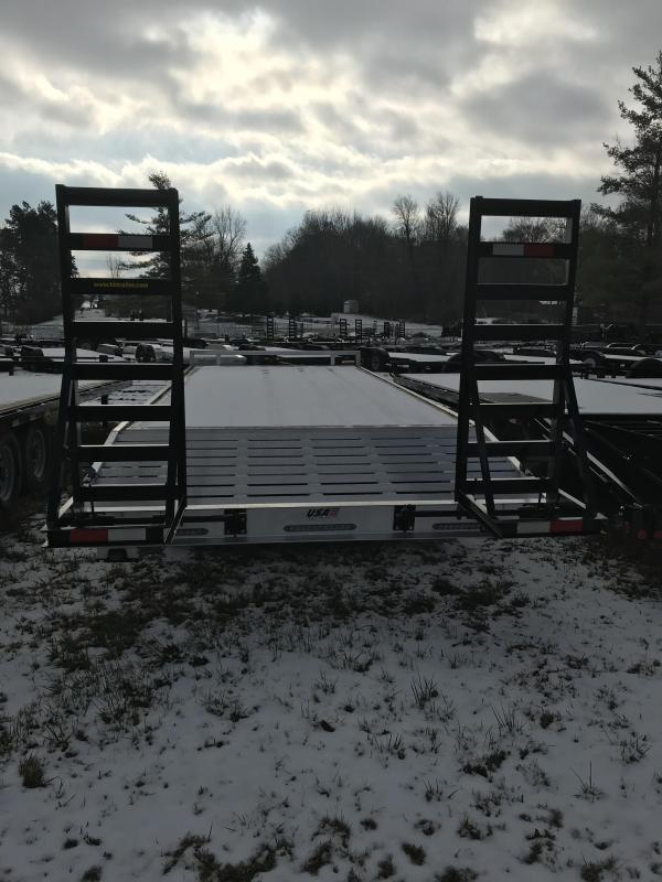 2018 H and H Trailer 24 tag 14K Aluminum Equipment Trailer