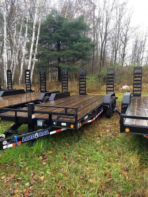 New 24' 14k Load Trail Equipment Trailer Michigan's #1 Selling Brand Of Trailer