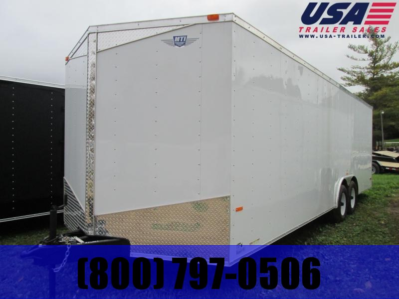 2019 MTI Trailers 8.5 X 24 7 TALL Enclosed Cargo Trailer