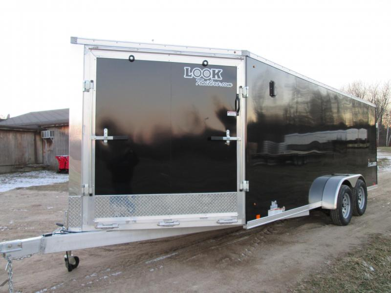 2018 Look Trailers 7x27 snow Snowmobile Trailer