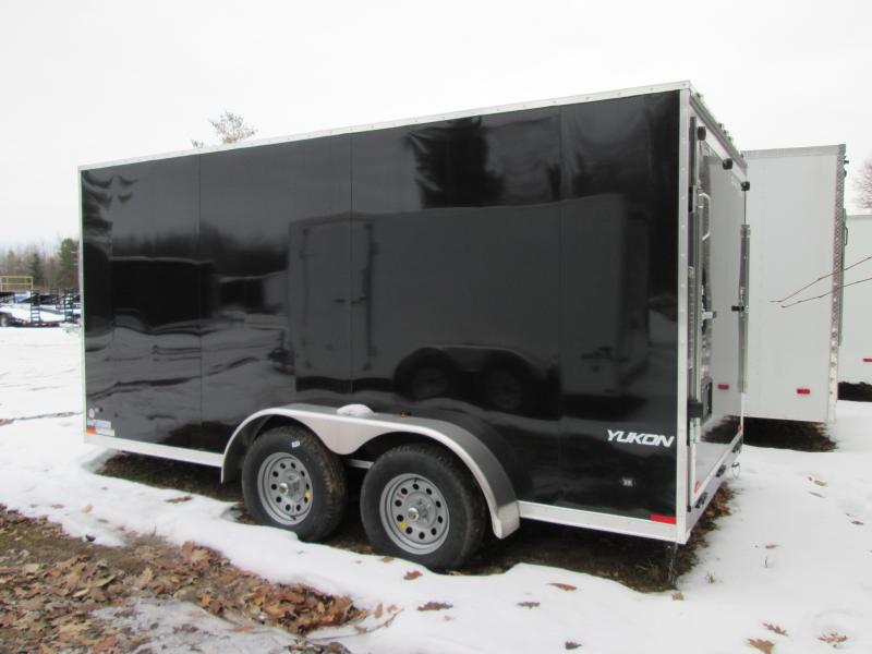 2019 Qualitec 7x16 Ramp Added Height Enclosed Cargo Trailer