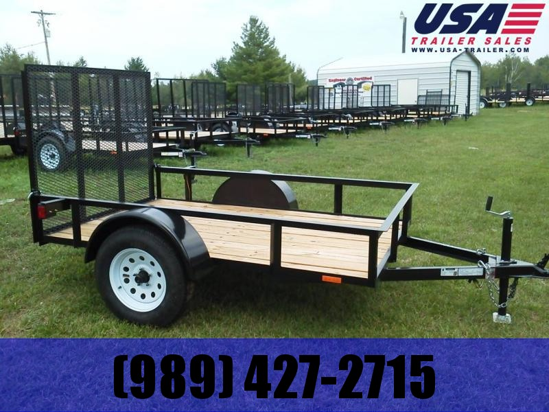 2019 American Manufacturing Operations (AMO) 5x8 low side Utility Trailer