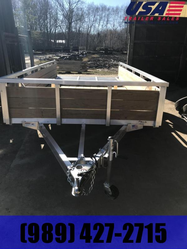 2019 H and H Trailer H8214WSA Utility Trailer