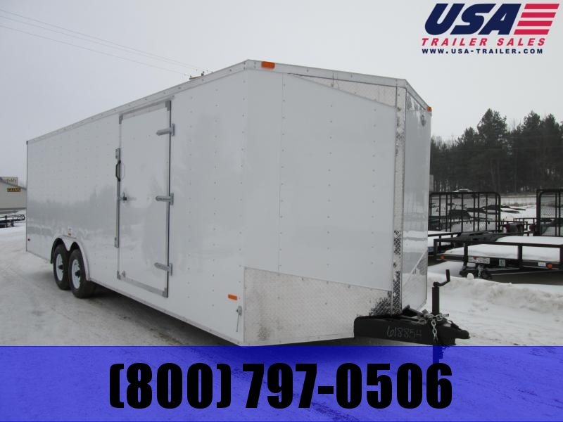 2018 MTI Trailers 8.5 X 20 Enclosed Cargo Trailer