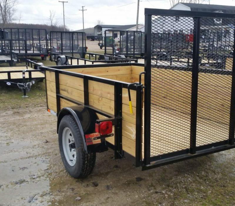 5 x 8 A.M.O. High Side Landscape Trailer