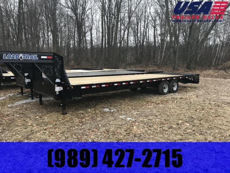 2019 Load Trail 32 Max Ramp LO PRO Gooseneck Equipment Trailer