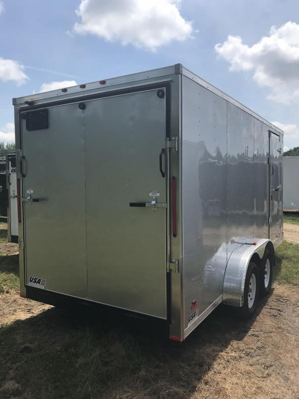 2020 MTI Trailers MWT 7X16TA2 Enclosed Cargo Trailer