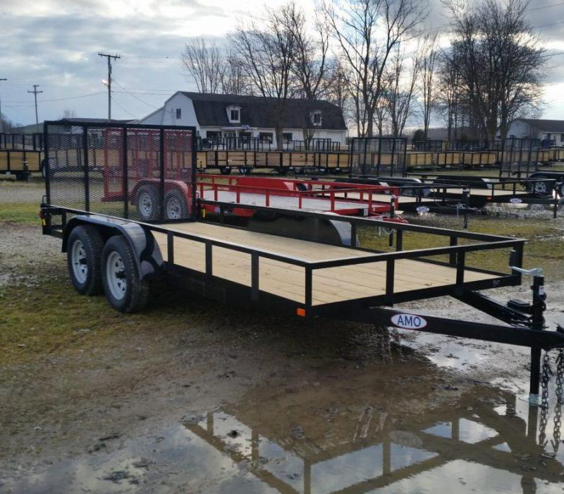 6.4 x 16 A.M.O. Tandem Landscape Trailer (without Brake)