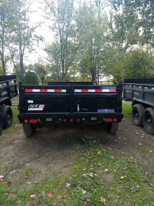New 14' Load Trail Dump Trailer Michigan's #1 Brand of Trailer