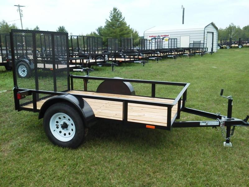 2018 American Manufacturing Operations (AMO) US081 Utility Trailer