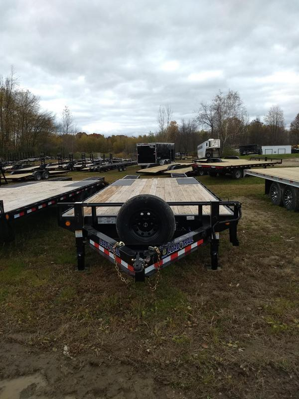New 24' 14k Deck Over Equipment Trailer Michigan's #1 Selling Brand