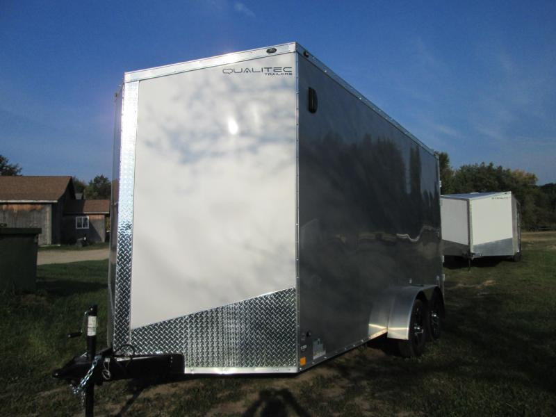 2019 Qualitec 7x16 Enclosed Cargo Trailer
