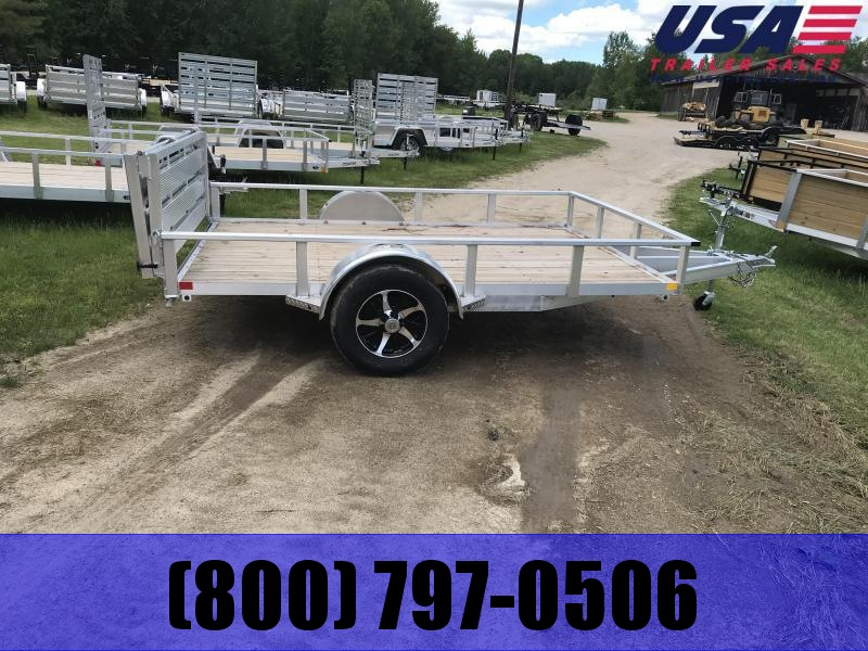 2019 H and H Trailer Aluminum 5x8 Landscape