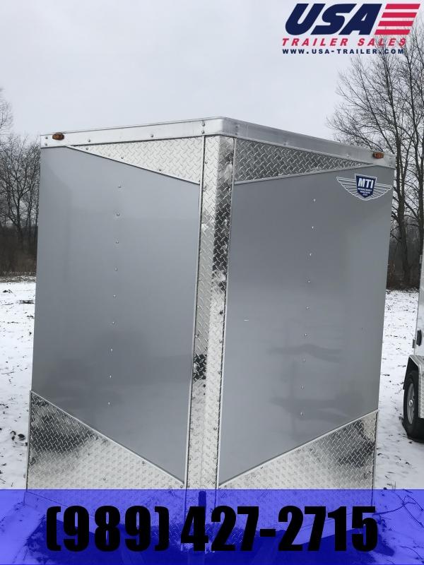 2019 MTI Trailers 6x12 Silver Barn Enclosed Cargo Trailer